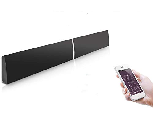LuguLake TV Sound Bar 3D Surround Wireless Speaker for Home Theater-39 inch, 40 Watts, Multi-Connection, USB, Wall Mounted Soundbar-New Version