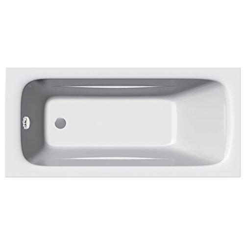 Home Standard® Diva Bathroom Straight Single Ended Bath Tub Acrylic | 1200mm x 700mm | Lifetime...