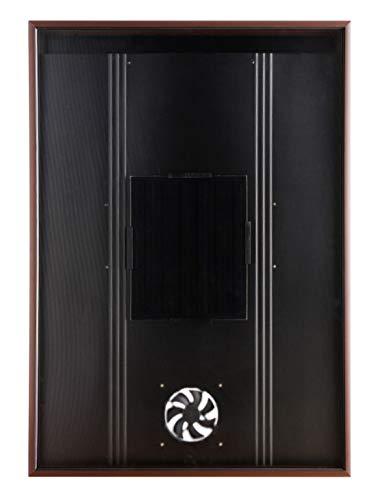 Nakoair Solar Luftheizung Kollektor OS20 LCD-Thermostat Brown Klimaanlage Abluftventilator Ventilator Trockner Raumheizung Luftentfeuchter Wärmepumpe Frischlüftung