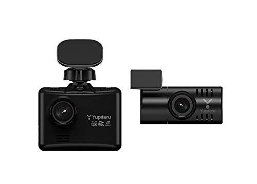 YUPITERUユピテルDRY-TW8500d前方・後方FullHD録画9mロングケーブル採用2カメラドライブレコーダーHDR/GPS/...