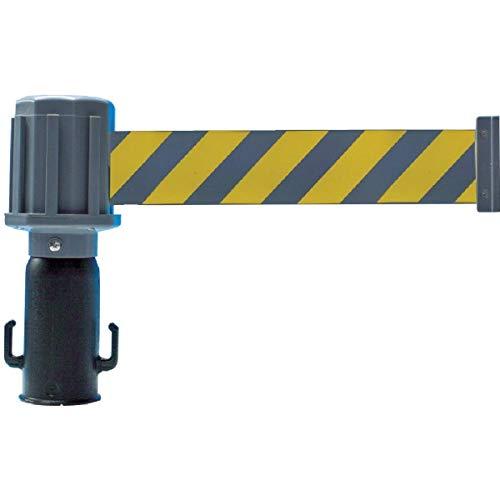 TRUSCO(トラスコ) チェーンスタンド用バリアライン(反射標示テープ付) 黄・黒 TST-BR-3