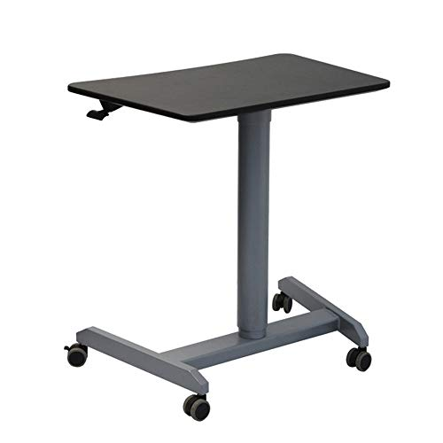 Sofa Side Table Leestafel In hoogte verstelbare Lessenaar Stand Portable Lecture Presentation Podium Kerk Stand Podium Laptop Stand (Color : Black, Size : One size)