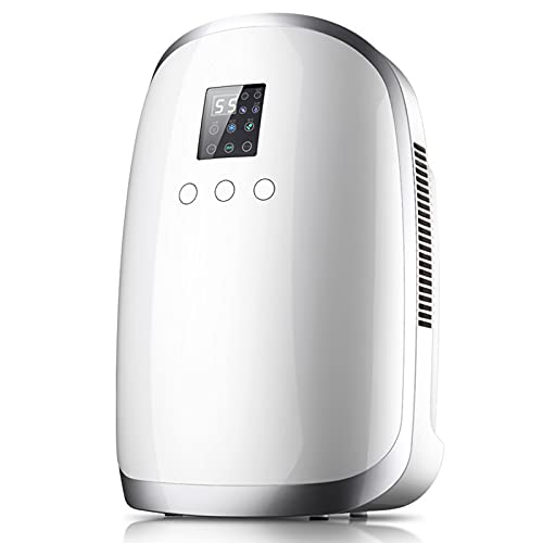 Dehumidifiers for Home,1700ml Portable Mini Dehumidifier,Digital Humidity Display, Intelligent Dehumidifier With Continuous Drainage, for Home, Bathroom, Basement.