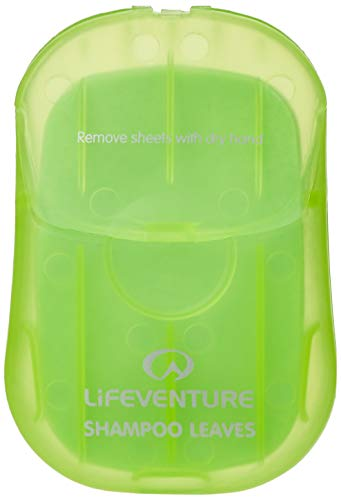 Lifeventure Shampoo Leaves x 50 Unisex-Adult, Green, Taille Unique
