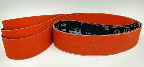 Norton SG Blaze Plus 1x42 36 Grit Ceramic sanding Sharpening Belts 3 Pk - Long Lasting