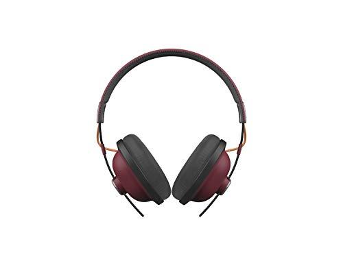 Panasonic RP-HTX80B Cuffie Bluetooth a Padiglione, Suono Vibrante e Bassi Potenti con Driver da 40 mm, 24 Ore di Riproduzione Wireless, Design Massimo Comfort Elegante e Raffinato, Bordeaux