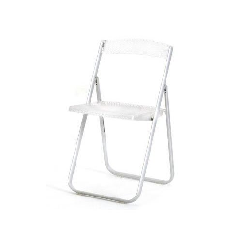 Kartell 4818B4 Klappstuhl Honeycomb transparent glasklar