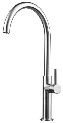 Acero inoxidable cocina/baño / lavabo/tocador tapas apropiadas cepillad 62e