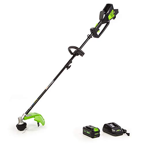 Purchase Greenworks 14-Inch 40V (Attachment Capable) String Trimmer, 6.0Ah Battery and Charger Inclu...