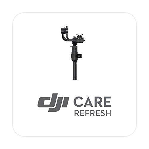DJI Ronin S - Care Refresh, VIP Serviceplan für Ronin S, bis zu zwei Ersatzprodukte innerhalb von 12 Monaten, schneller Support, Abdeckung von Sturz und Wasserschäden, Aktiviert innerhalb von 30 Tagen