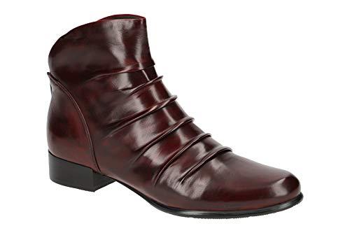 Everybody Damen Stiefeletten - Elegante Stiefelette MIRTO 58580A2441 Sangria Rot, EU 39
