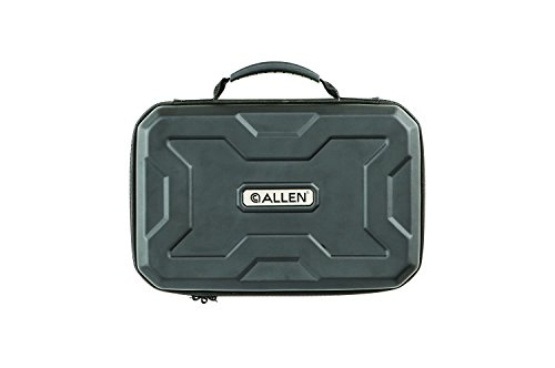 Allen Company Exo Soft Molded Handgun Case, Black, 9' (82-9)