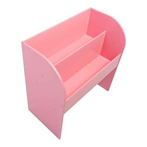 IRIS, Kinder Bücherregal 'Kids Bookshelf' mit Stauraum / Aufbewahrung, Holz, rosa, 67,4 x 36 x 69,8 cm
