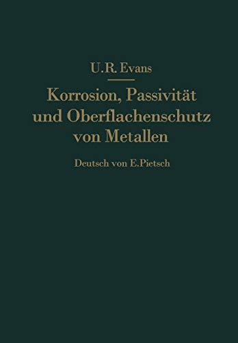 Korrosion, Passivität und Oberflächenschutz von Metallen