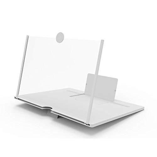 Grifo Lupa de Pantalla de teléfono móvil de Moda 3D de Alta definición Creativo tirando Blanco 10 Pulgadas