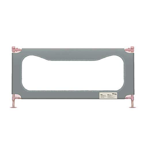 Barrières de lit LHA Déflecteur Vertical de lit d'enfant de Garde-Corps de Garde-Corps de lit (Couleur : Gray, Taille : L-180cm)