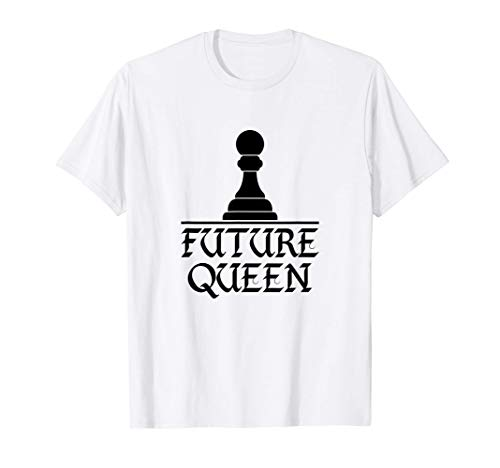 Future Queen Funny Chess Family Group Costume Gift Tシャツ