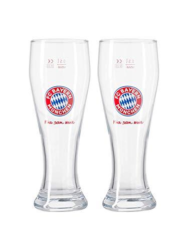 FC Bayern München Weißbierglas,...