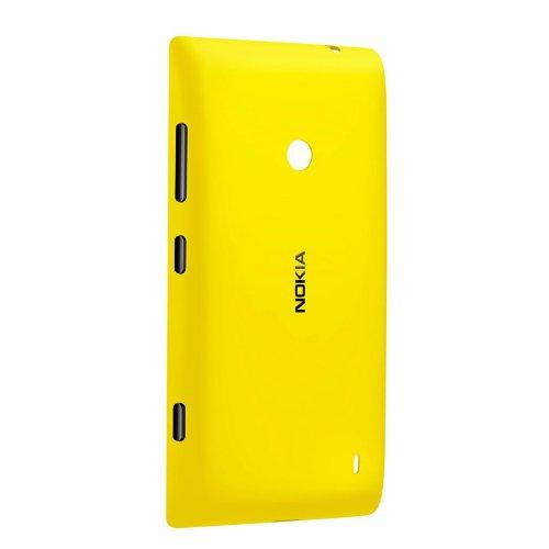 Nokia Copribatteria Rigida per Modello Lumia 520/525, Giallo