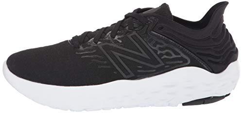New Balance Men's Fresh Foam Beacon V3 Running Shoe, Black/White, 7