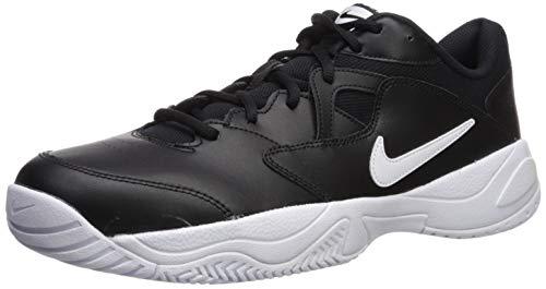 Nike Men's Court Lite 2 Sneaker, Black/White - White, 12 Regular US