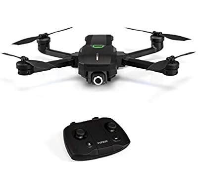 Yuneec YUNMQBEU Mantis Q Portable 4K Camera Drone Value Pack - Grey