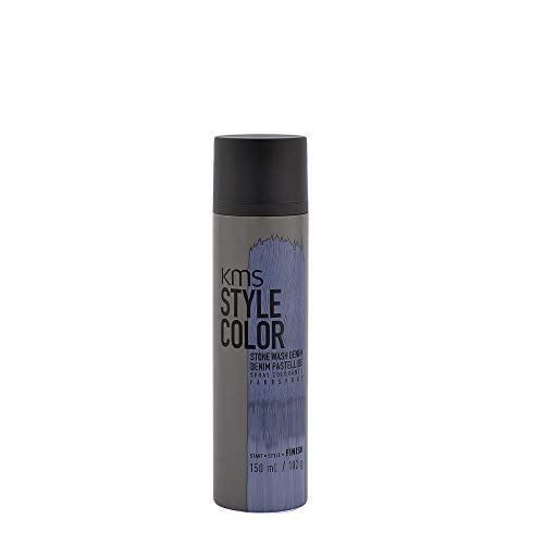 KMS California Style Color Stone Wash Denim temporäres Farbspray - Haarfarbe ohne sich festzulegen, 150 ml