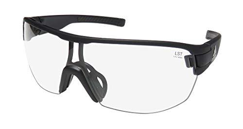adidas Zonyk Midcut L Sunglasses 2018 Black Matte Vario Antifog Clear/Gray