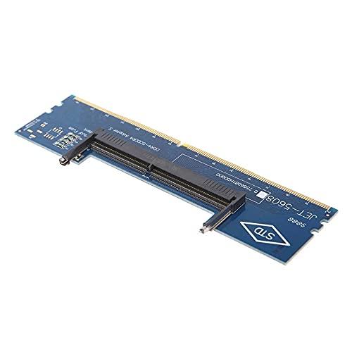 Zayaa Portátil DDR4 RAM a la Tarjeta adaptadora de Escritorio Probador de Memoria SO DIMM a DDR4 Convertidor Tarjeta de Memoria de Escritorio Conectar Reparación PC Oficina