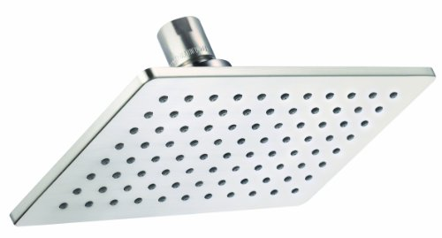 Danze D460059BN Mono Chic Rectangular Single Function Showerhead, 5-Inch by 8-Inch, Brushed Nickel
