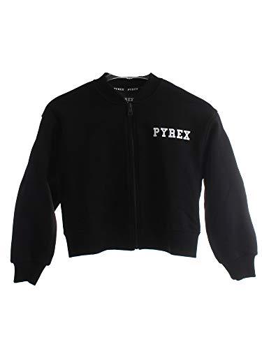 Pyrex Felpa jr Full Zip Collo Coreana Nero, 10a