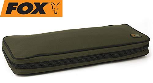 Fox R-Series Buzz Bar Bag 51x6x23cm - Tackletasche für Buzzerbar, Angeltasche für Rutenauflage, Zubehörtasche zum Karpfenangeln