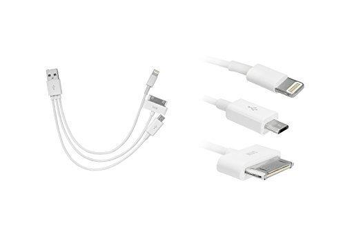Cavo di Carica Adatto per iPhone4, 4s IPHONE 5, 5 S, 5c IPHONE 6 e Samsung S4