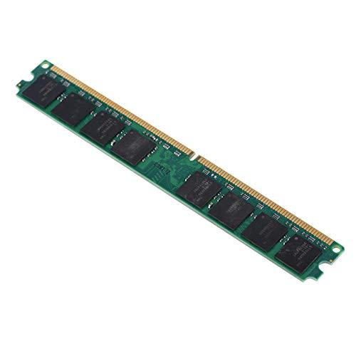 Lafey Ram de Memoria DDR2, 800 MHz de Alta Velocidad de Memoria RAM de Memoria de Chip incorporada para computadora de Escritorio DDR2 PC2-6400 Compatible con Placa Base Intel /