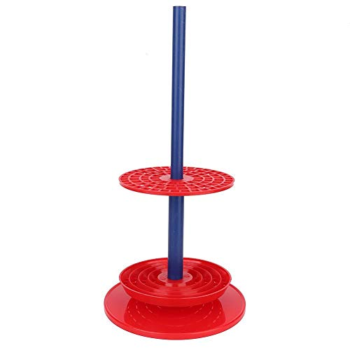 Pipettenständer, praktischer, hochwertiger, roter Mehrzweck-Pipettenständerhalter, Rack-Pipettenständer Laborbedarf, Platz für 94 Pipetten, hitzebeständig/korrosionsbeständig/ungiftig