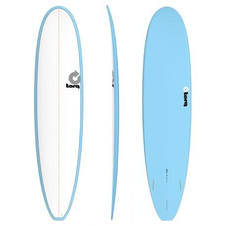 Tabla de Surf Pinline Torq 8'0' Malibu White/Blue, blanco