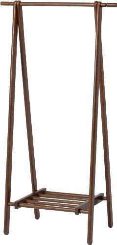 不二貿易『木製ハンガーラック』