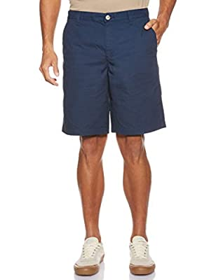 "Columbia Men's Bonehead II Shorts, Quick Drying, Collegiate Navy, 38 x 10"" Inseam"