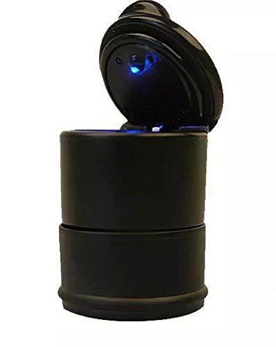 Goliton® LED portatile auto camion Auto Ufficio Cigarette Ashtray Cup Holder - Nero