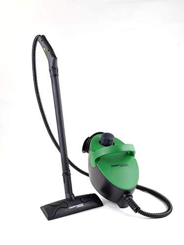 XSQUO Power vapore Limpiadora de Alta Eficiencia con 8 Funciones y Diseño Trieo, Negro, Normal
