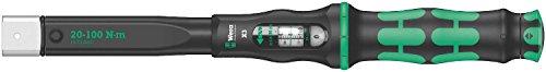 Wera \'05075653001 Click-Torque X 3 Drehmomentschlüssel für Einsteckwerkzeuge, 9x12 x 20-100 Nm