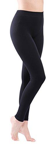 Yenita Leggings donna cotone colore nero