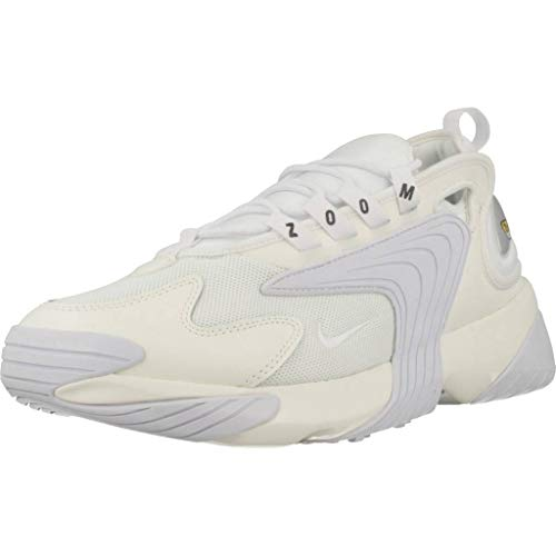 Nike Zoom 2K, Scarpe da Running Uomo, Multicolore (Sail/White/Black 100), 44.5 EU