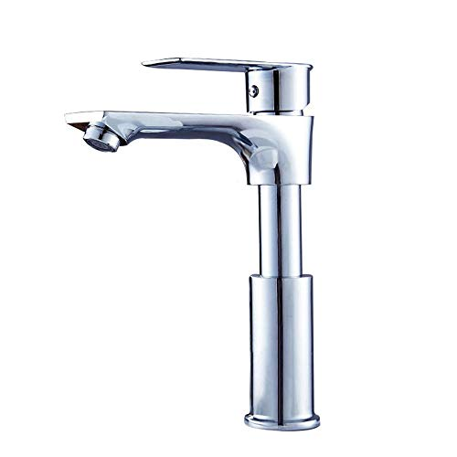 Best Review Of Bath Shower Mixer Tap Stainless Steel Faucet Copper Pull Basin Basin Retractable Lift...