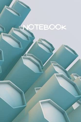 Notebook: 3D render abstract Print Composition Notebook - College Ruled 100 Pages - Size 6 x 9: Lined notebook