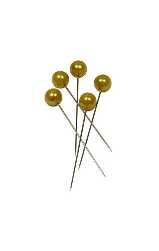 Corderie Italiane 006042570 Spilli, Diametro 10 x 50 mm, 50 Pezzi, Oro