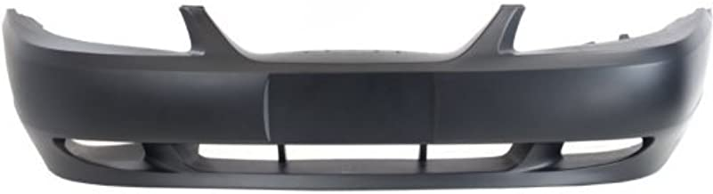 Front BUMPER COVER Primed for 1999-2004 Ford Mustang With Fog Light Holes, GT Model