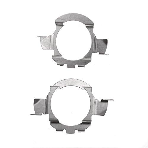 Reemplazo de 2X H7 LED Adaptadores de bombilla de faros de coche