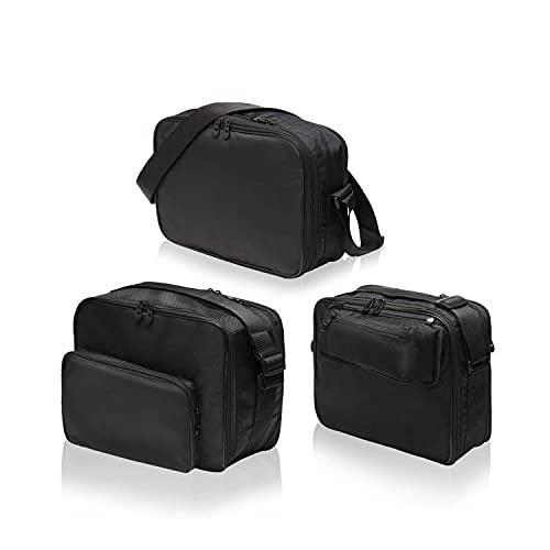 SET de 3 Bolsas, bolsillos interiores adecuados para 2 maletas laterales moto (Vario) y 1 maleta moto (Vario Top Case) BMW F750GS, F850GS, R1200GS (K25), R1200GS (K50), R1250GS (K51) - No. 12+16