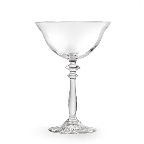 1924 Vintage 8.25 Ounce Coupe Cocktail Glass - 12/CS - Libbey 501407